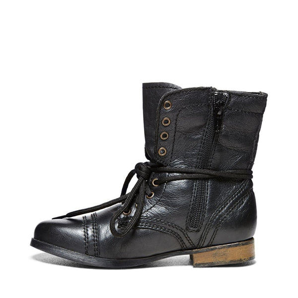 c192f6dd476 JTROOPA BLACK LEATHER – Steve Madden