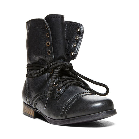 JTROOPA BLACK LEATHER