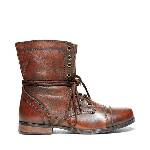 JTROOPA BROWN LEATHER