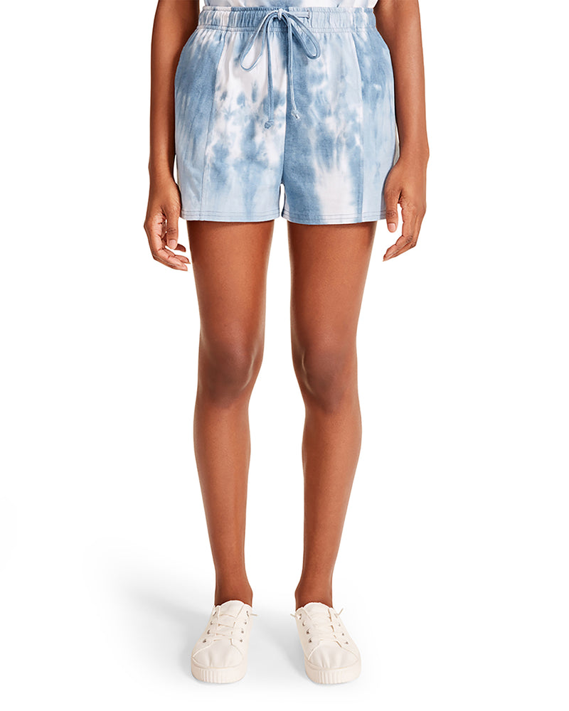 TIE-DYE LOUNGE SHORT BLUE MULTI
