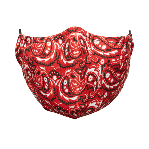RED BANDANA MASK
