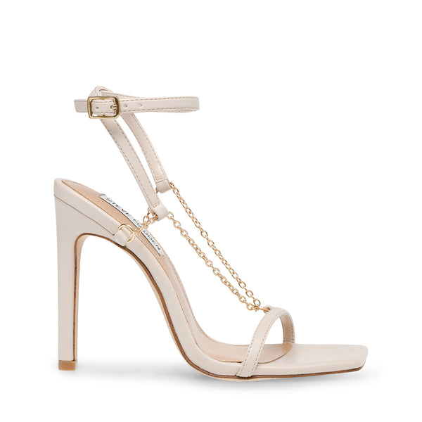 Steve Madden Womens Heeled Sandals in White Color Size 9 IHV