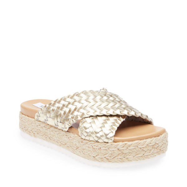 ADVENTURE GOLD LEATHER - Steve Madden