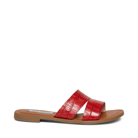 ALEXANDRA RED CROCODILE