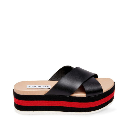 ASHER BLACK MULTI - Steve Madden