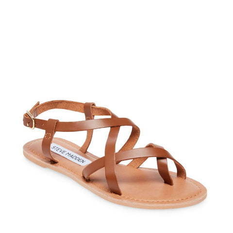 BELOVED COGNAC LEATHER - Steve Madden