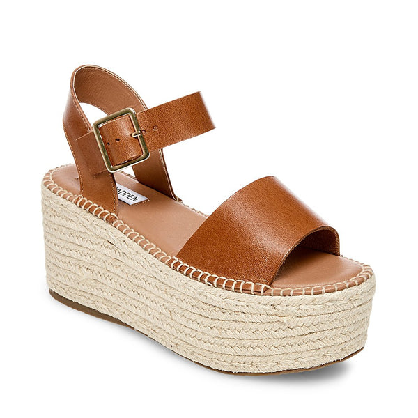 CABO COGNAC LEATHER - Steve Madden