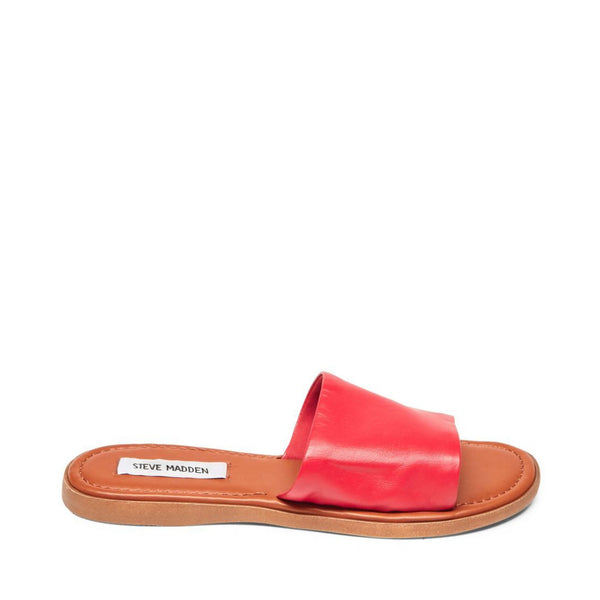 CAMILLA RED LEATHER - Steve Madden