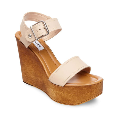 CANDIS NUDE LEATHER - Steve Madden