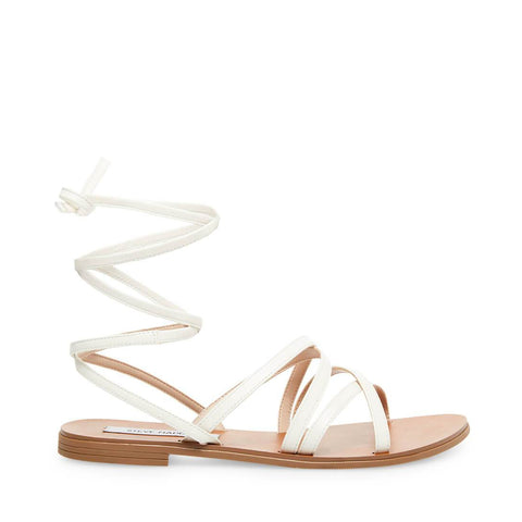 CARMEN WHITE LEATHER - Steve Madden