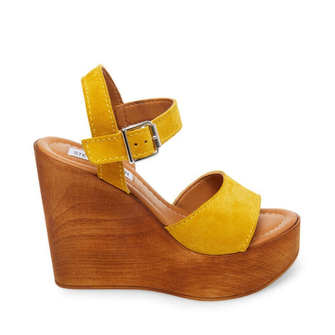 CELLESTE YELLOW SUEDE