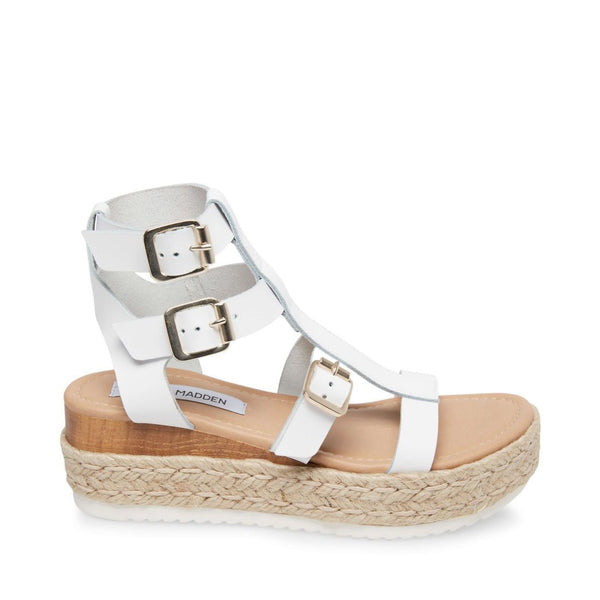 CERTAIN WHITE LEATHER - Steve Madden