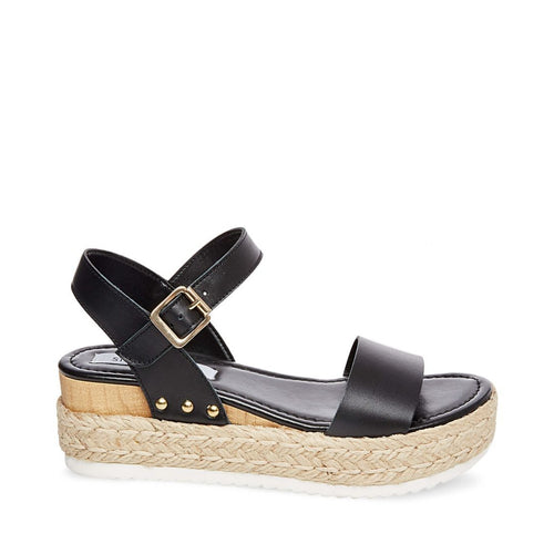 CHIARA BLACK LEATHER - Steve Madden