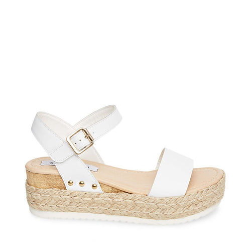 CHIARA WHITE LEATHER - Steve Madden