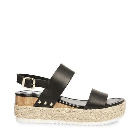 CICI BLACK LEATHER - Steve Madden
