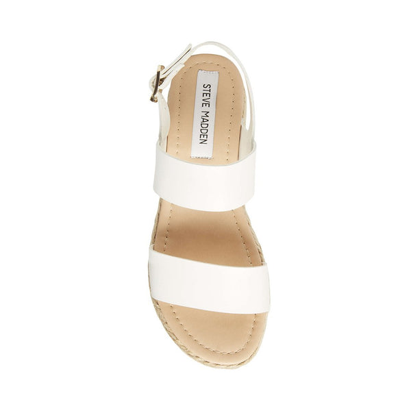 CICI WHITE LEATHER - Steve Madden
