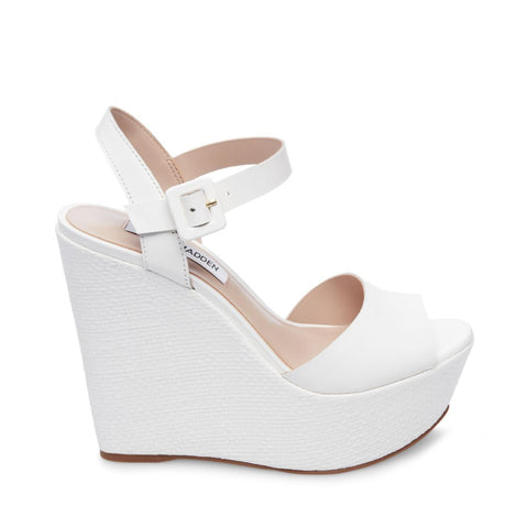 CITRUS WHITE LEATHER - Steve Madden