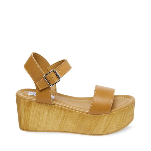 CONNECTION COGNAC LEATHER - Steve Madden