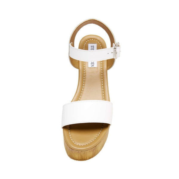 CONNECTION WHITE LEATHER - Steve Madden
