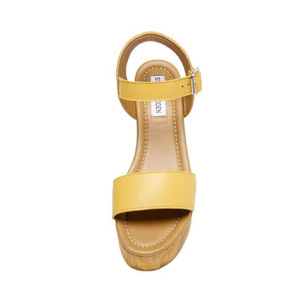 CONNECTION YELLOW LEATHER - Steve Madden