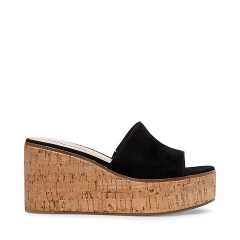 DESIREE BLACK SUEDE