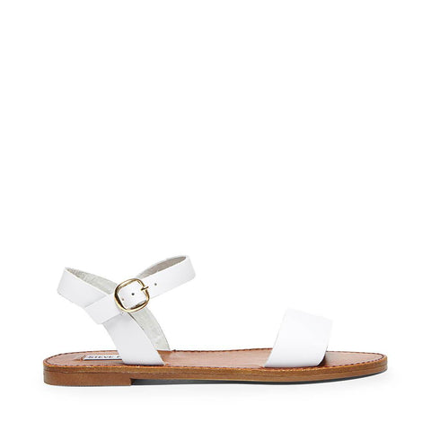 DONDDI WHITE LEATHER - Steve Madden