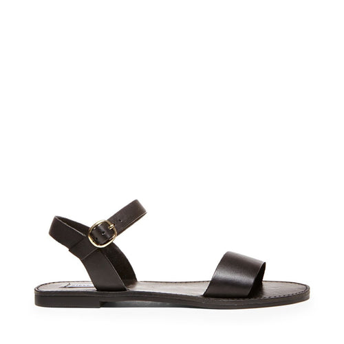 DONDDI BLACK LEATHER - Steve Madden