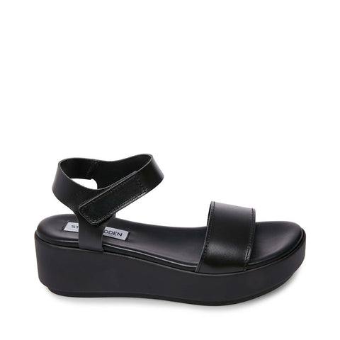 EASTSIDE BLACK LEATHER - Steve Madden