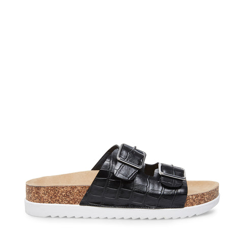 GESSICA BLACK CROCODILE