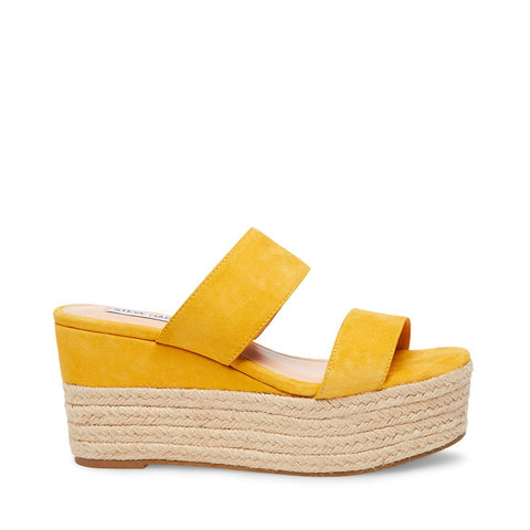 HAPPY YELLOW SUEDE
