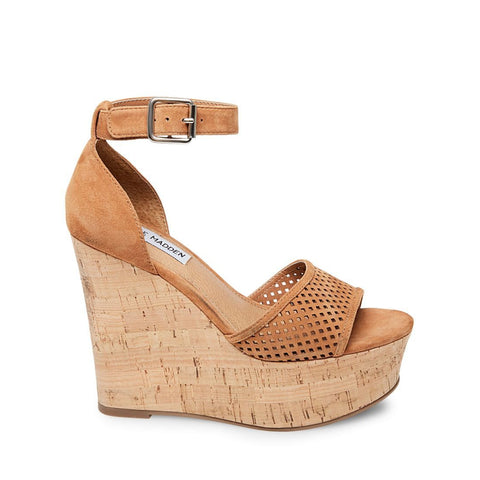HEATHER CHESTNUT SUEDE - Steve Madden