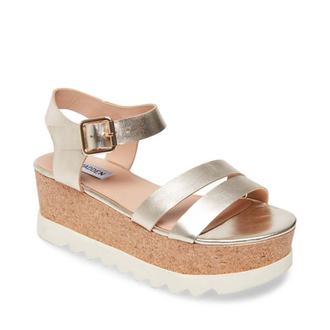 KEYKEY GOLD LEATHER - Steve Madden