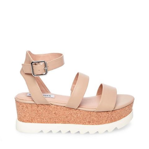 KIRSTEN NATURAL LEATHER - Steve Madden