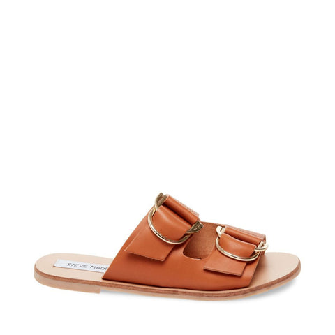 LINDSAY COGNAC LEATHER - Steve Madden