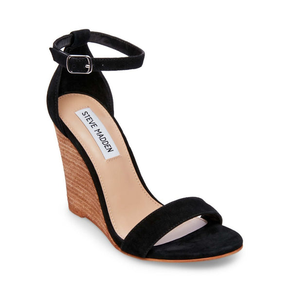 MARY BLACK SUEDE - Steve Madden