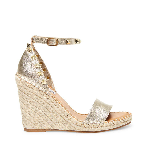 MCKENNA GOLD LEATHER - Steve Madden