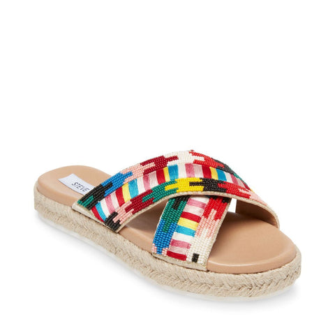 POSTCARD BRIGHT MULTI - Steve Madden