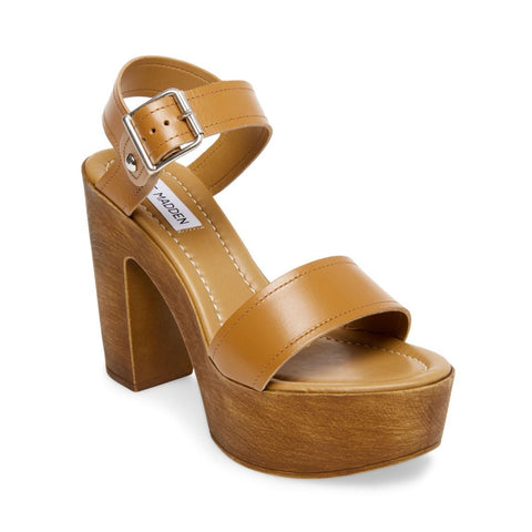 POTION COGNAC LEATHER - Steve Madden