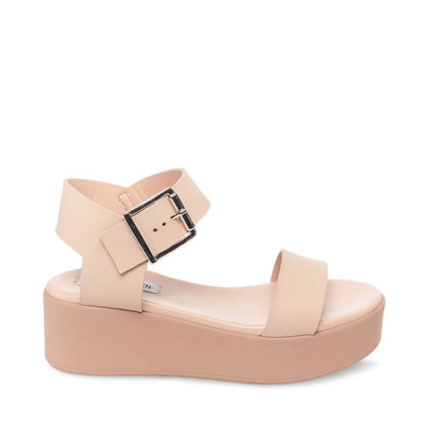 RECOVER NUDE LEATHER - Steve Madden