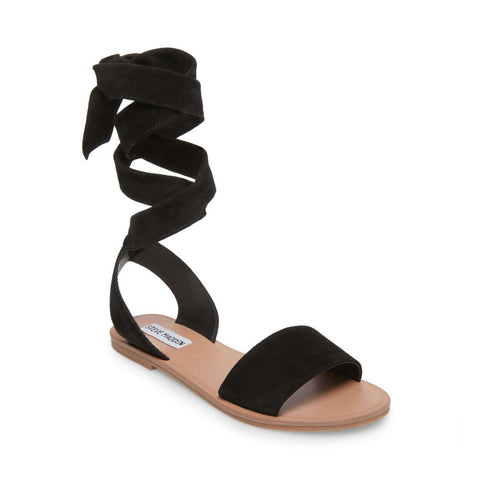 REPUTATION BLACK SUEDE - Steve Madden
