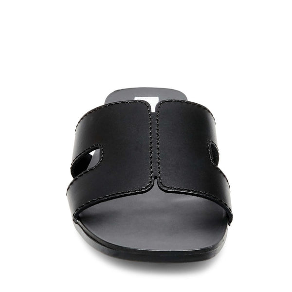 SAYLER BLACK LEATHER - Steve Madden