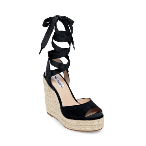 SECRET BLACK SUEDE - Steve Madden