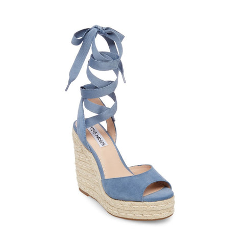 SECRET BLUE SUEDE - Steve Madden