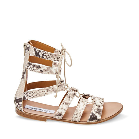 SHIRA NATURAL SNAKE - Steve Madden