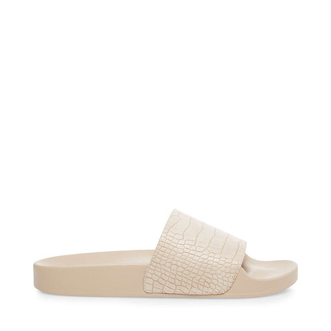 STEPHY TAUPE CROCODILE