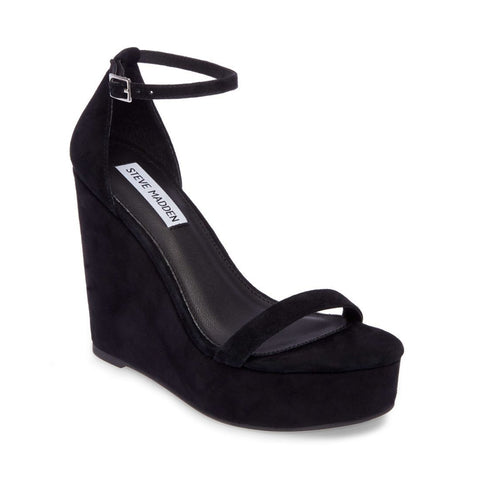 SUCCEED BLACK SUEDE - Steve Madden