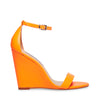 CALLA ORANGE LEATHER