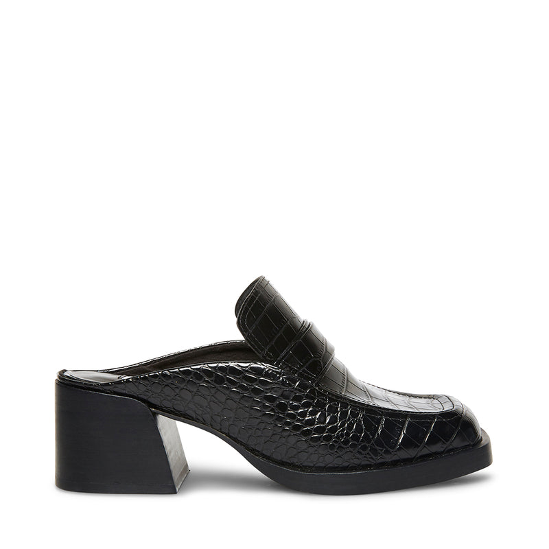 FANTINE BLACK CROCODILE