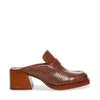 FANTINE BROWN CROCODILE