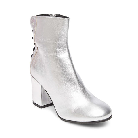 ABDELLA SILVER LEATHER - Steve Madden